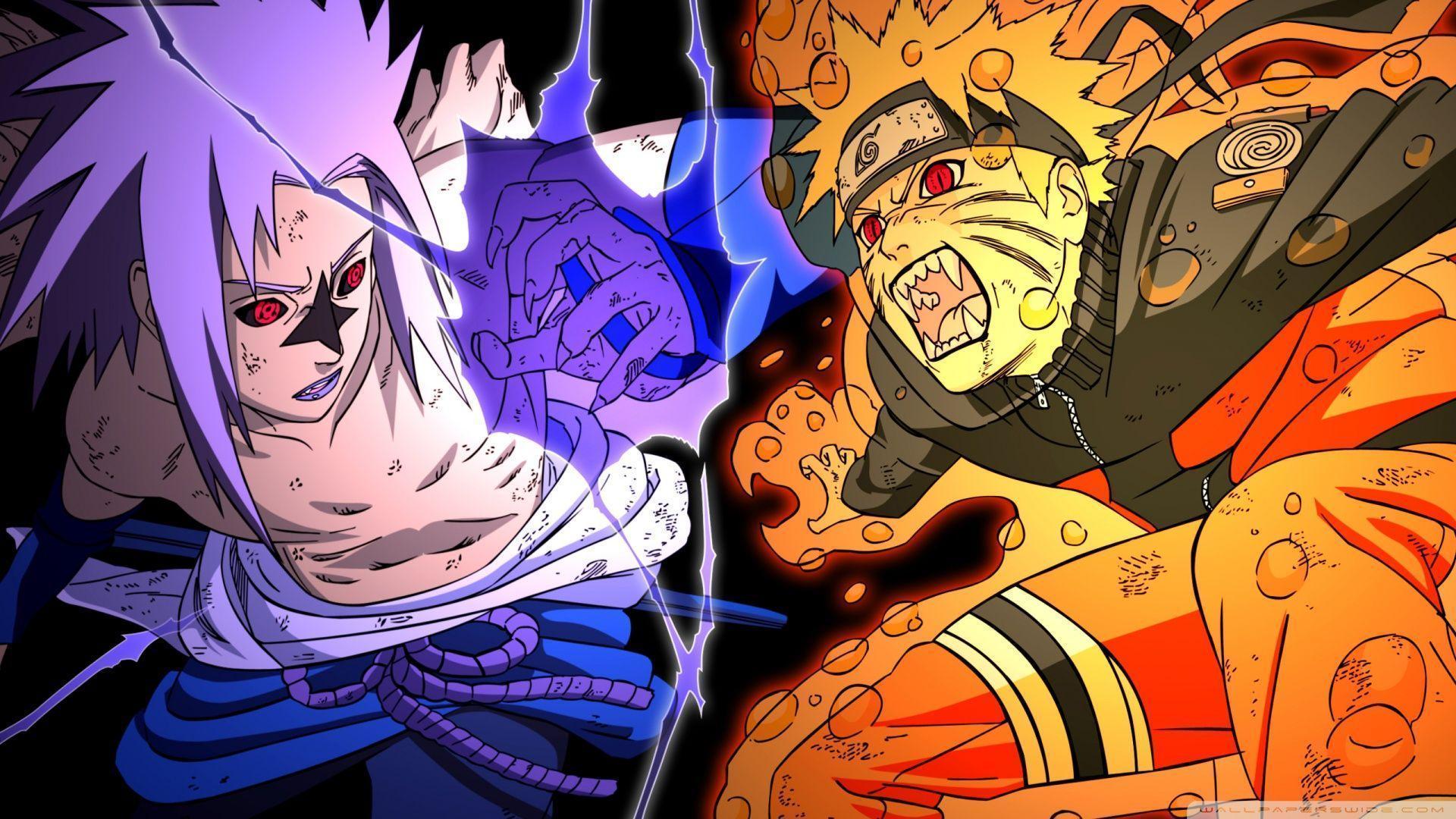 Wallpapers Naruto And Sasuke Wallpaper Cave