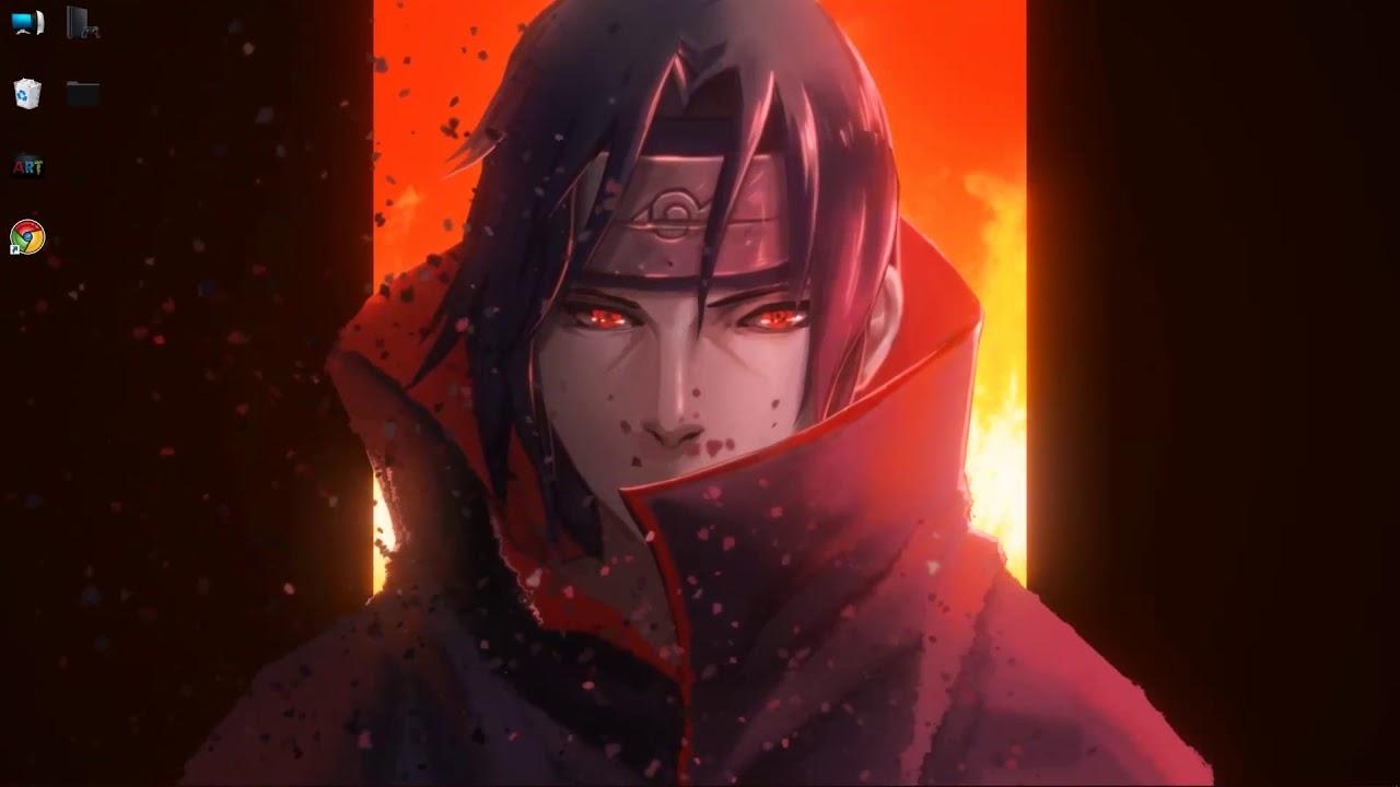 wallpaper engine Naruto Itachi live wallpaper free