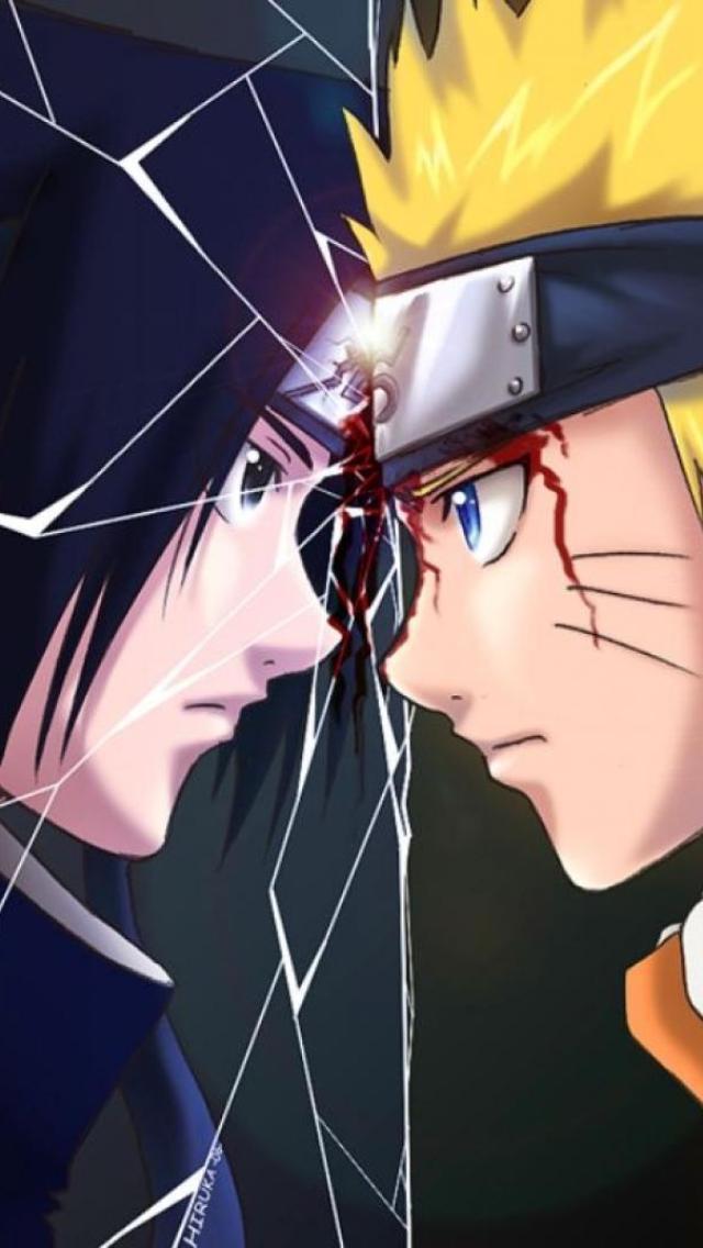 Sasuke Vs Naruto Iphone 5 Wallpaper Naruto Sasuke