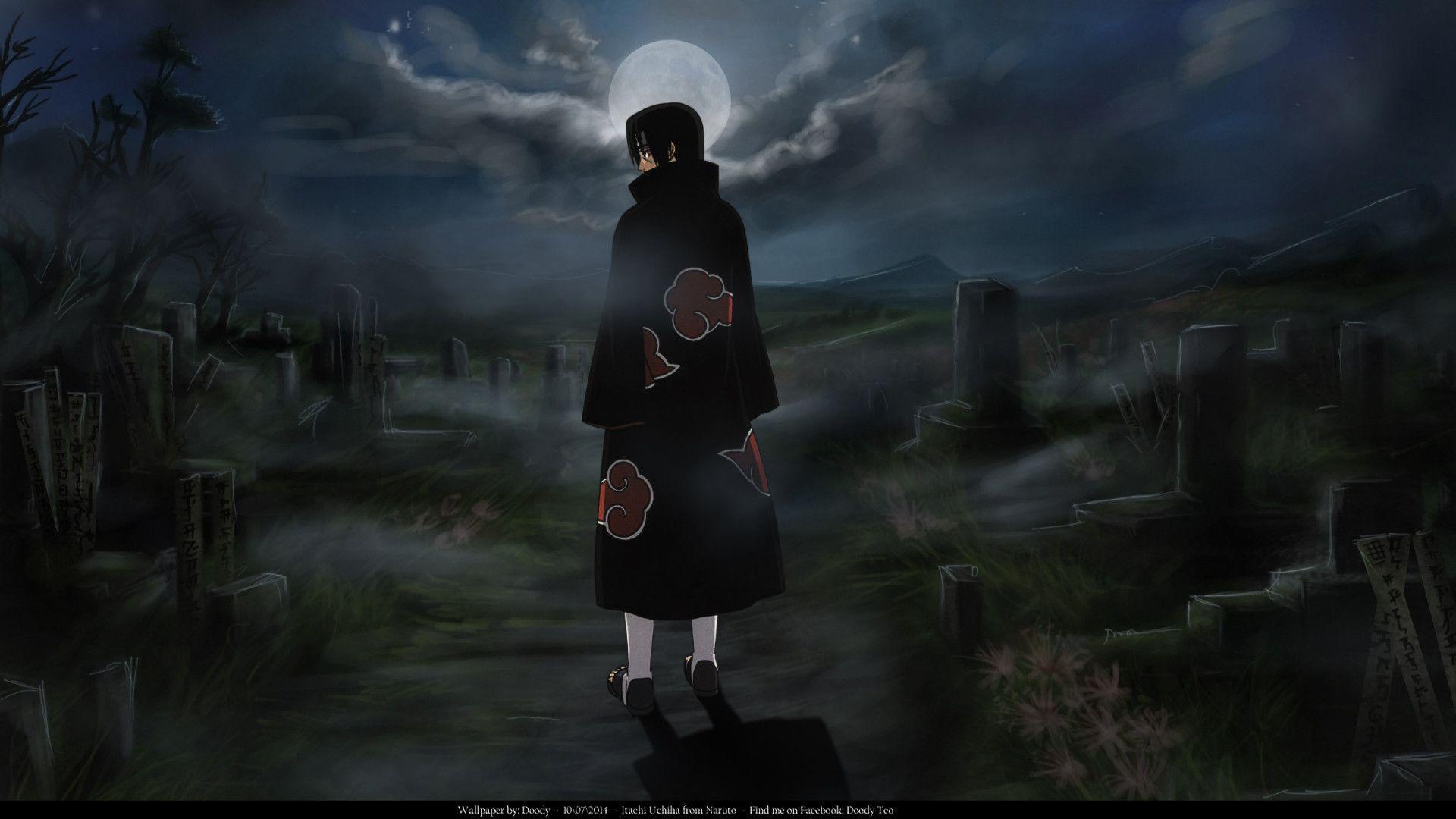 1920x1080 Anime Naruto Itachi Uchiha Wallpaper Itachi