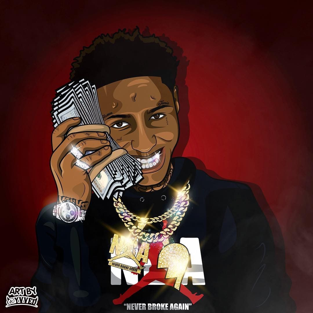 Nba Youngboy Cartoon Posted By Michelle Tremblay