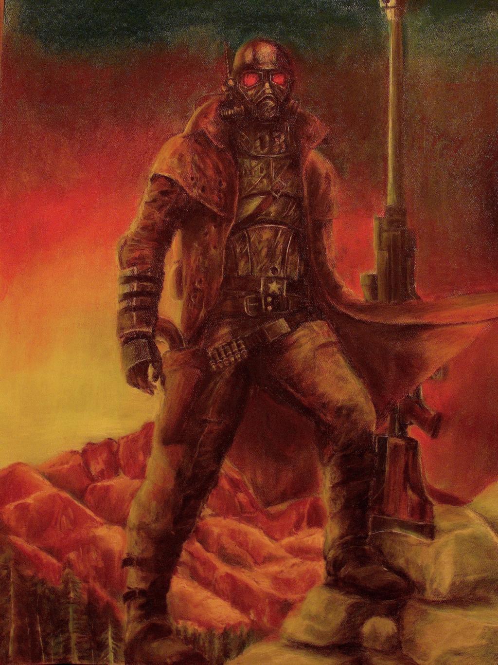 Ncr Veteran Ranger Wallpaper Posted By John Sellers