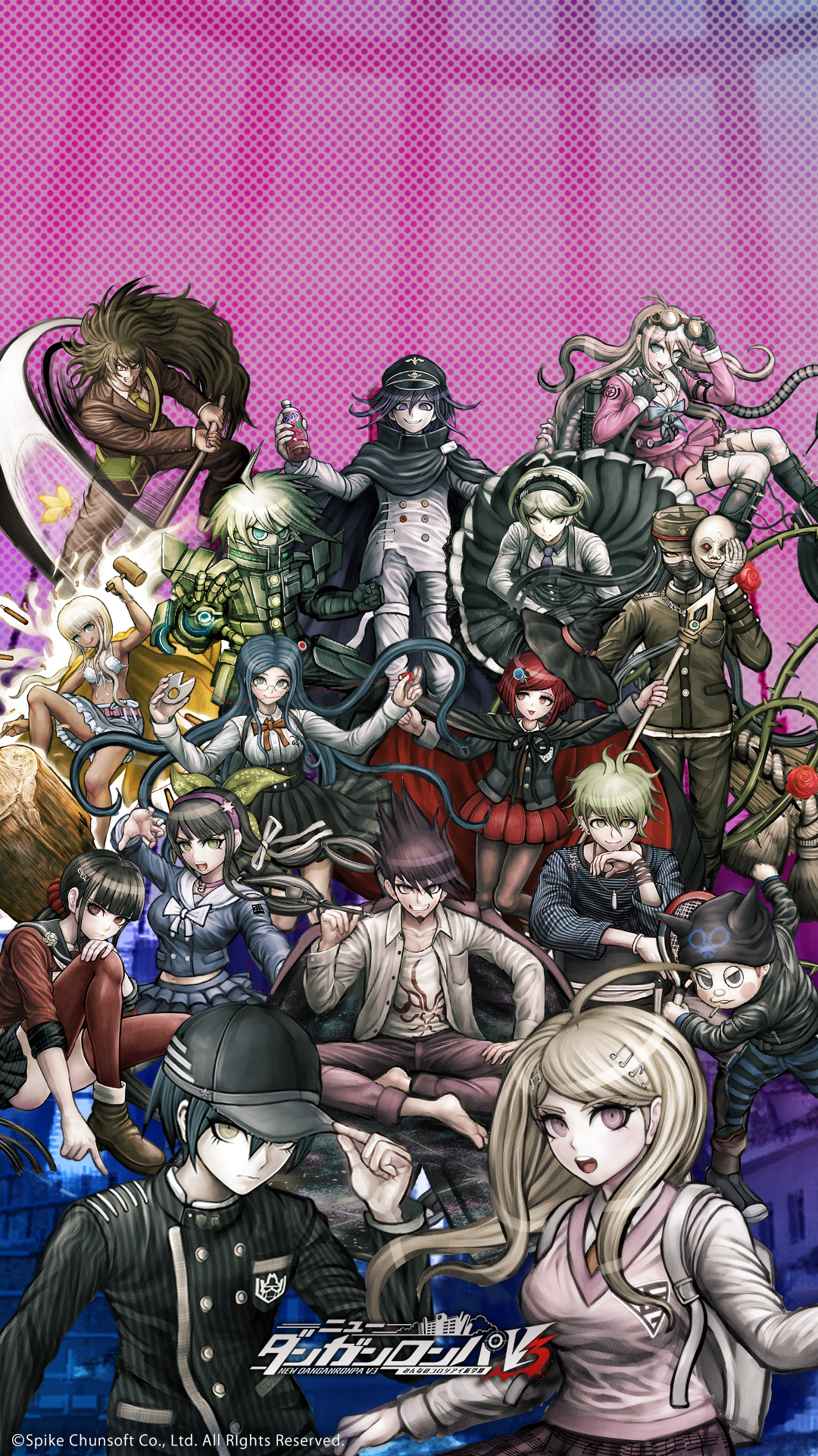 Ndrv3 Wallpaper Posted By Sarah Cunningham And thank u everyone for ur kind words ^_^. ndrv3 wallpaper posted by sarah cunningham