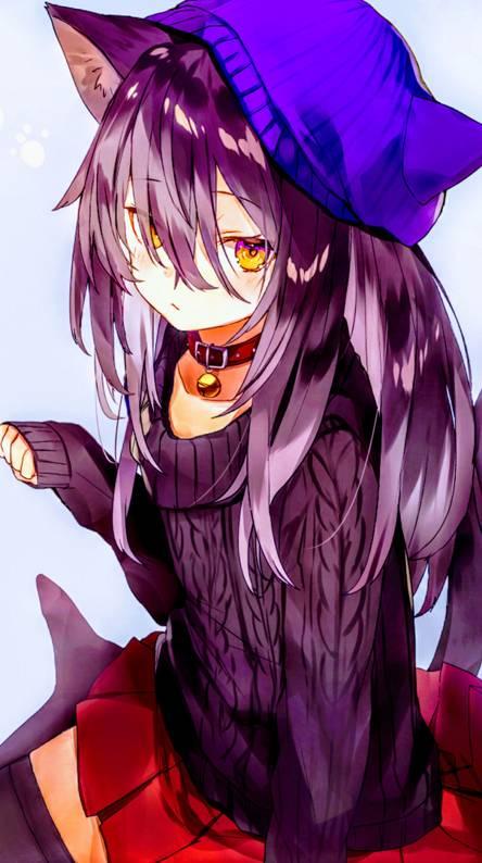 Neko Anime Girl Wallpaper Posted By Zoey Peltier
