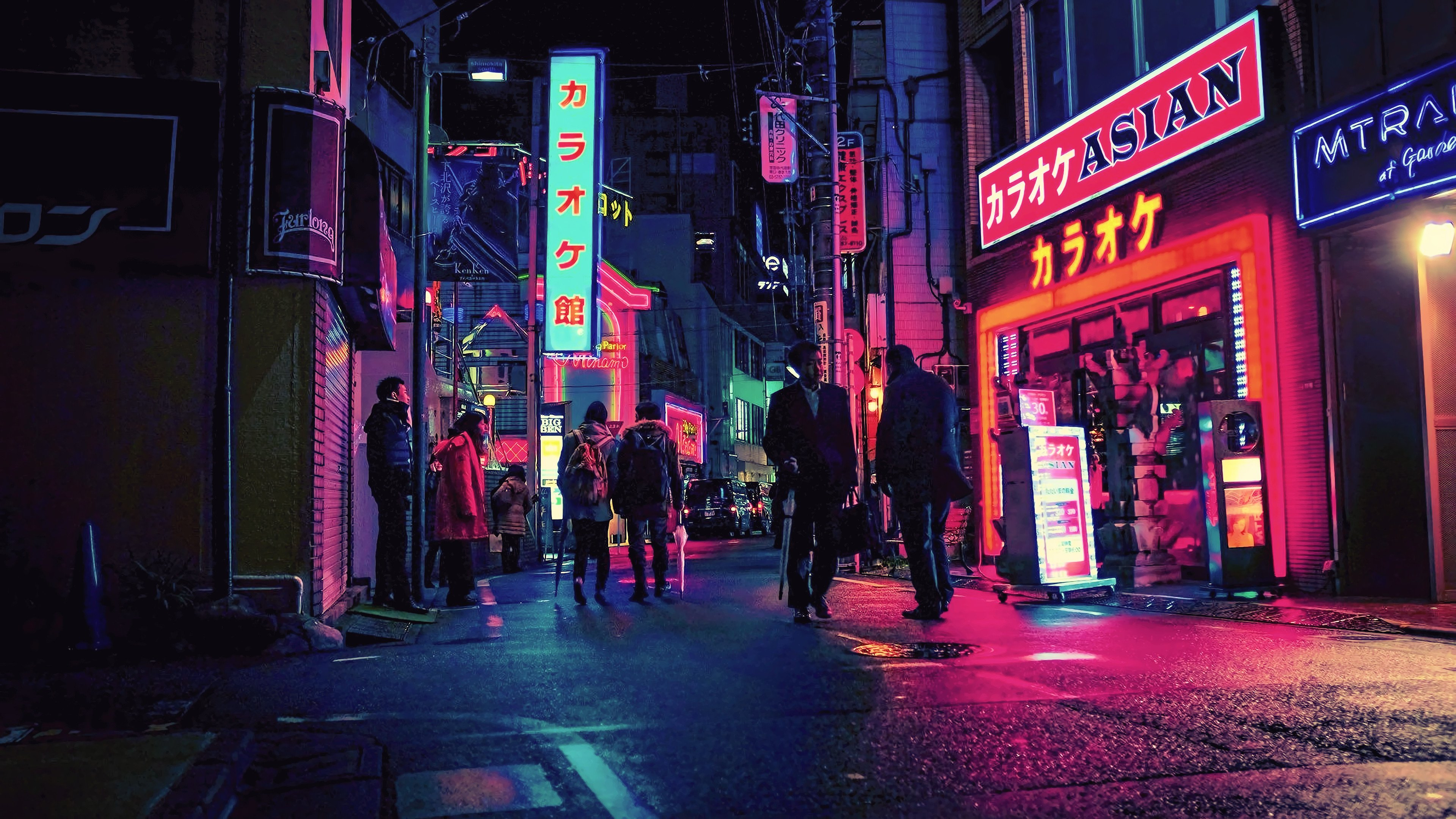 Neon City Wallpaper Posted By Ethan Mercado