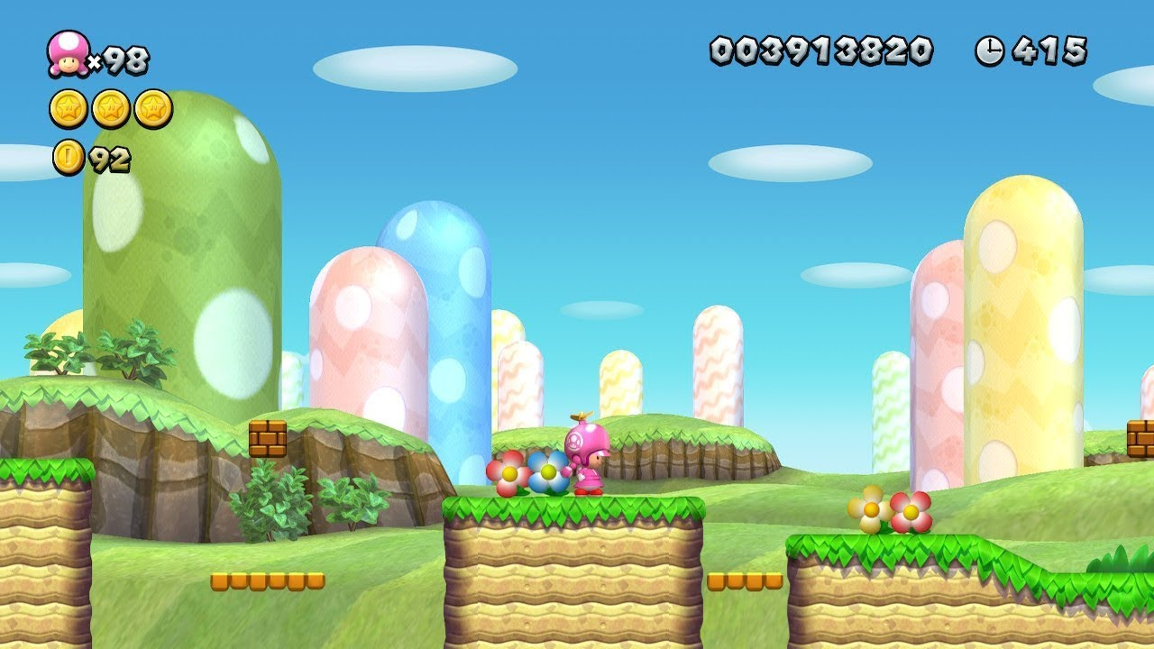 New Super Mario Bros Background Posted By Ethan Simpson