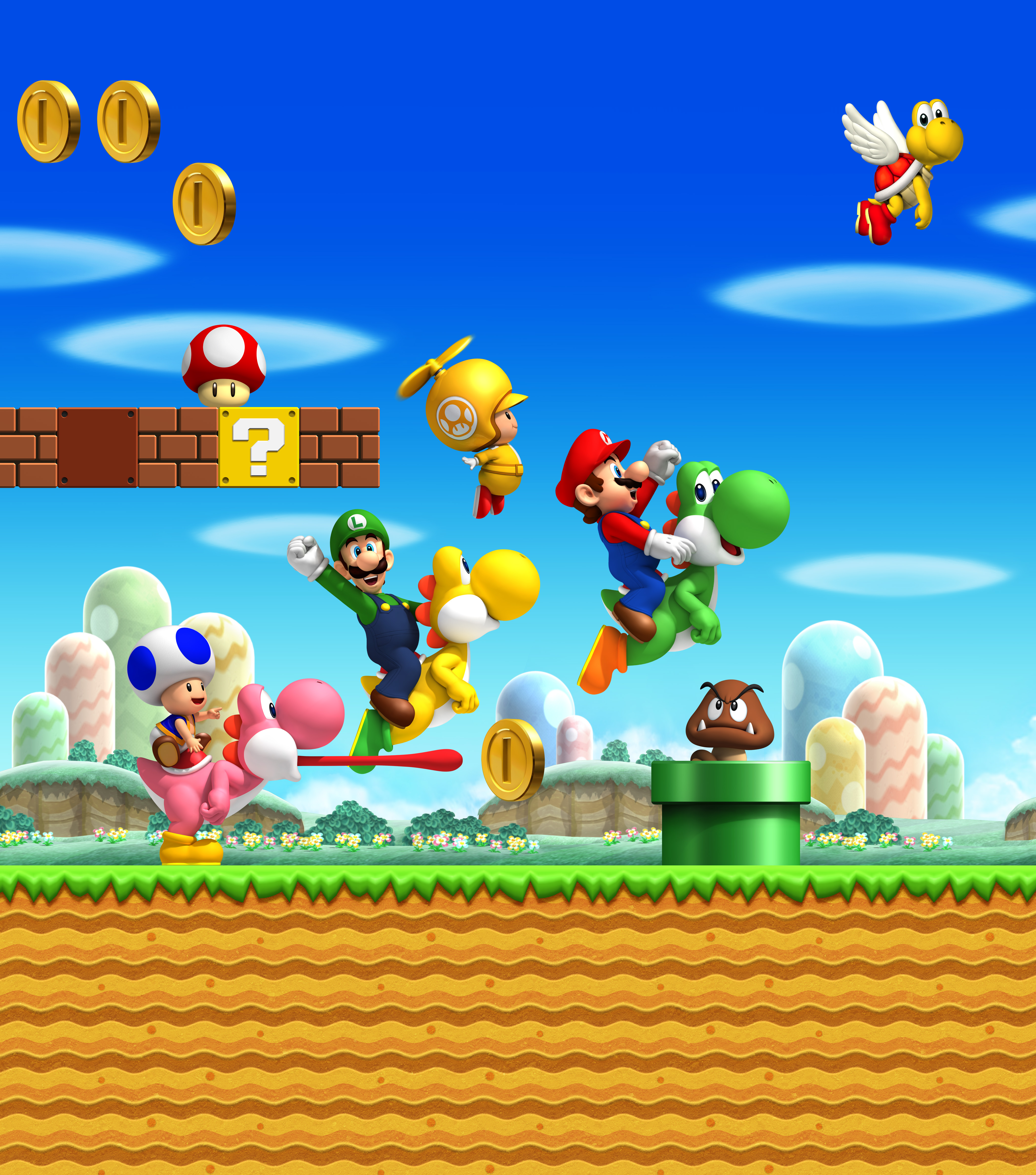 New Super Mario Bros Backgrounds Posted By Samantha Walker