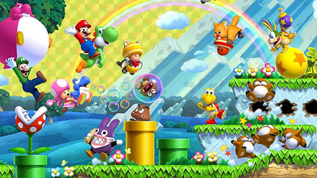 New Super Mario Bros Backgrounds Posted By John Johnson