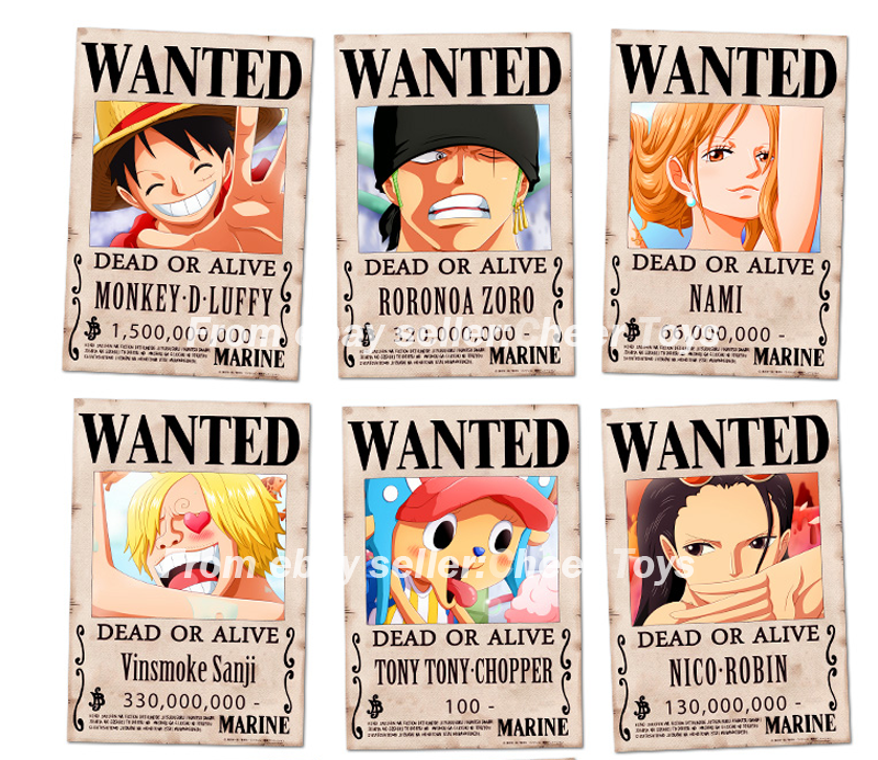 New Wanted Poster One Piece Posted By Sarah Tremblay