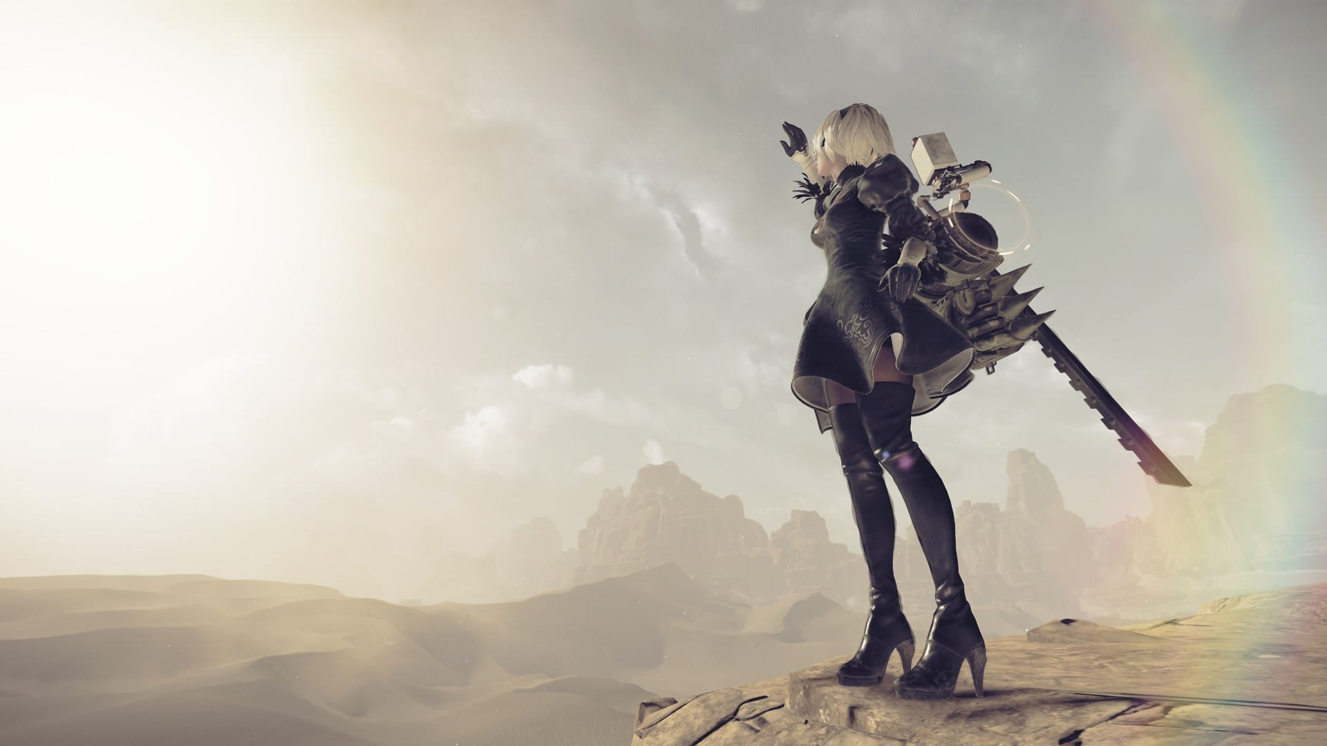 Nier Automata 1920x1080 Wallpaper Posted By Samantha Anderson