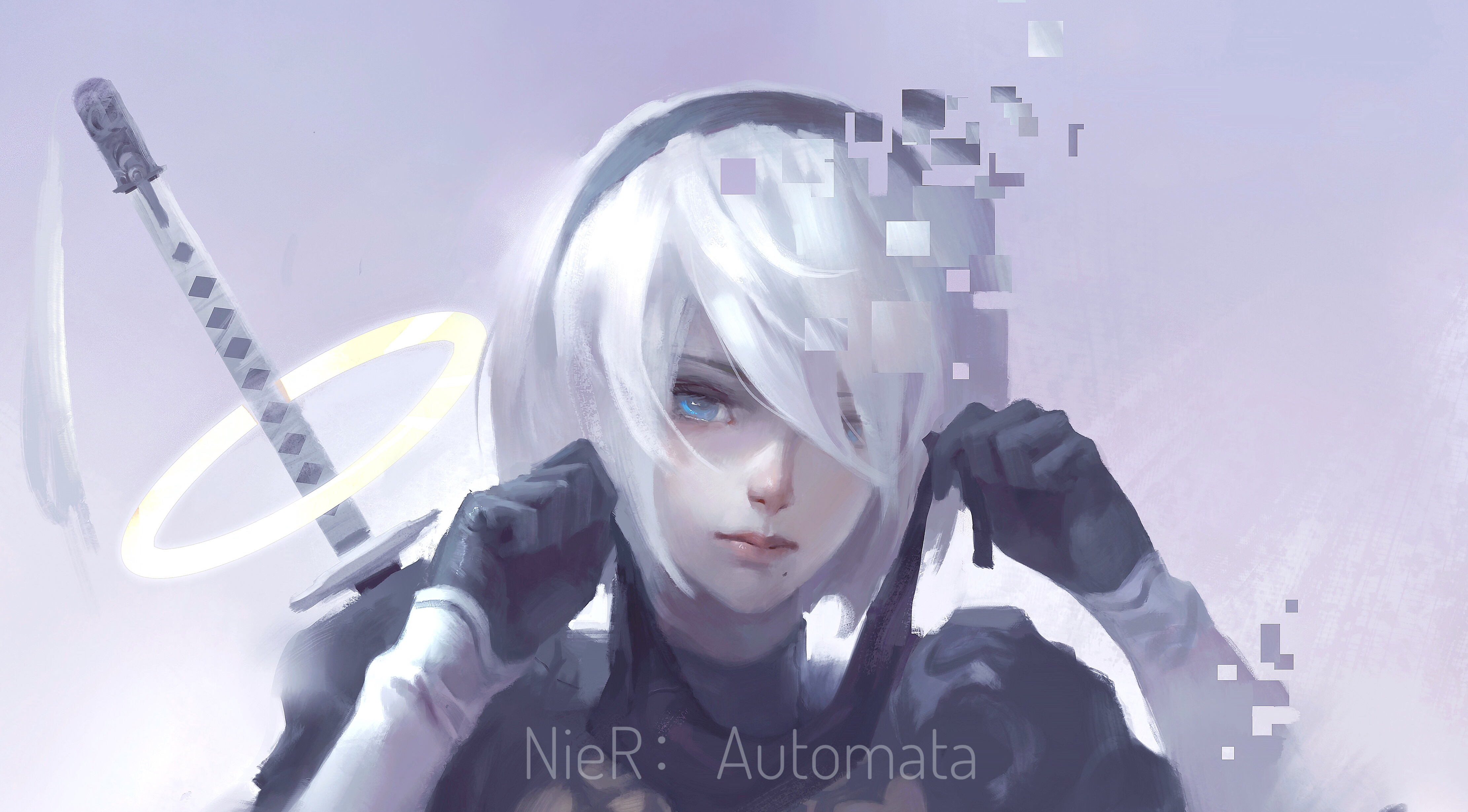Nier Automata 2b Wallpaper 4k Posted By Ethan Thompson