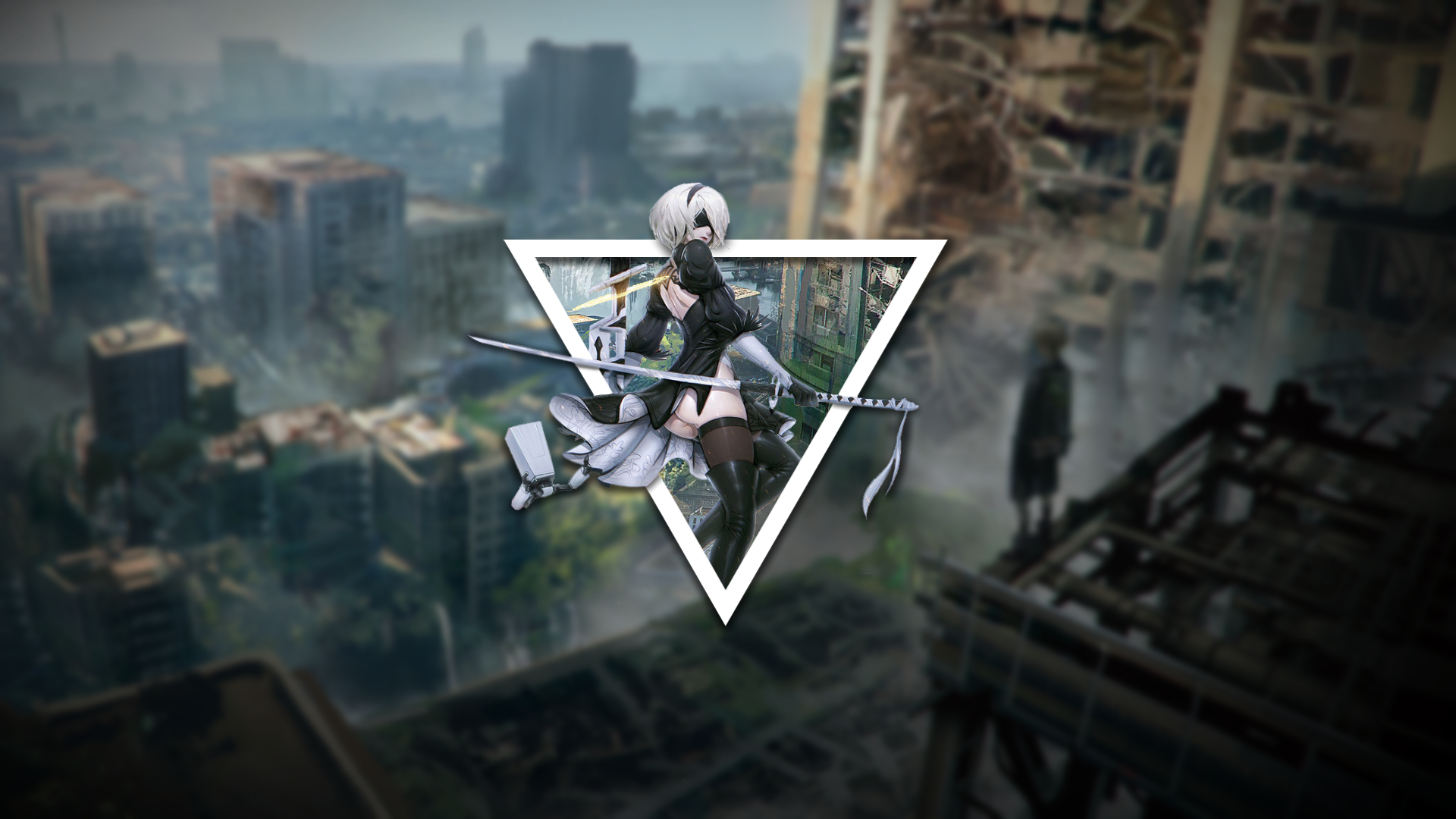 Nier Automata Background 1920x1080 Posted By Christopher Simpson