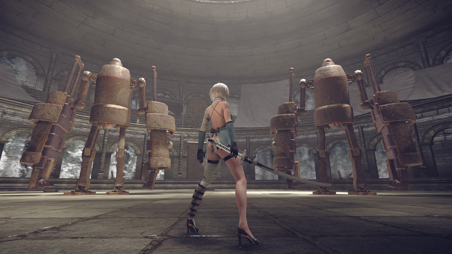 Nier Automata Wallpaper 1080p Posted By Michelle Simpson
