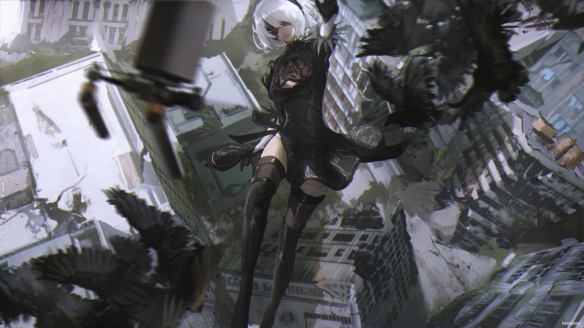 Nier Automata Wallpaper Hd Posted By Michelle Mercado