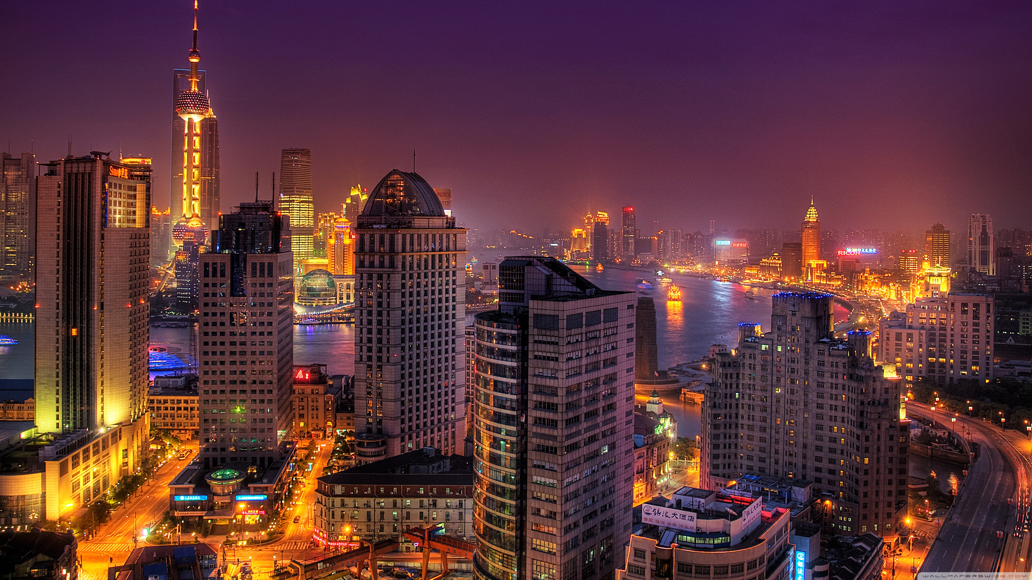 Night City Wallpaper 1920x1080 Posted By John Simpson