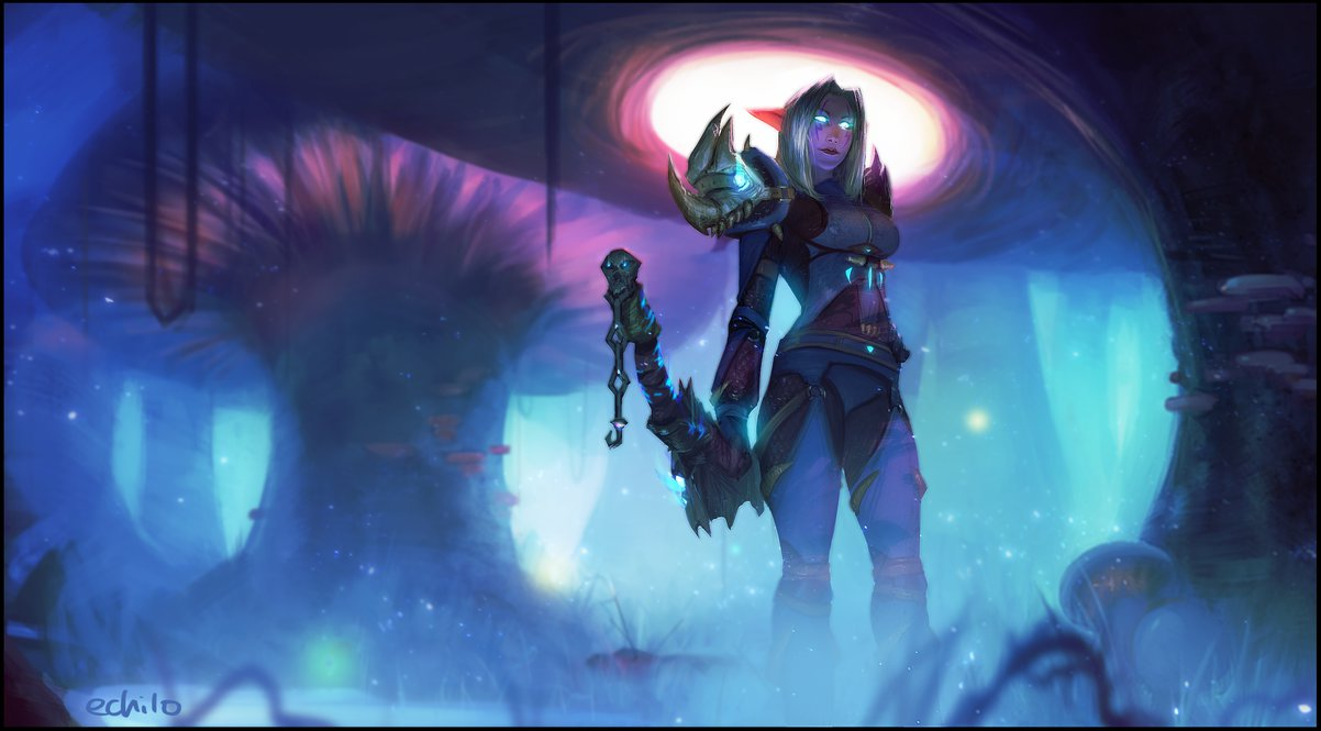 Night Elf Wallpaper Posted By Christopher Johnson