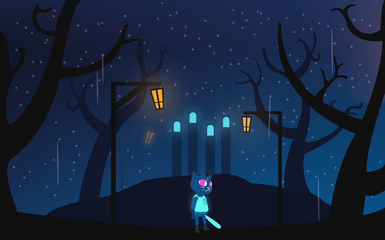 Night In The Woods Desktop Wallpaper Posted By Sarah Anderson