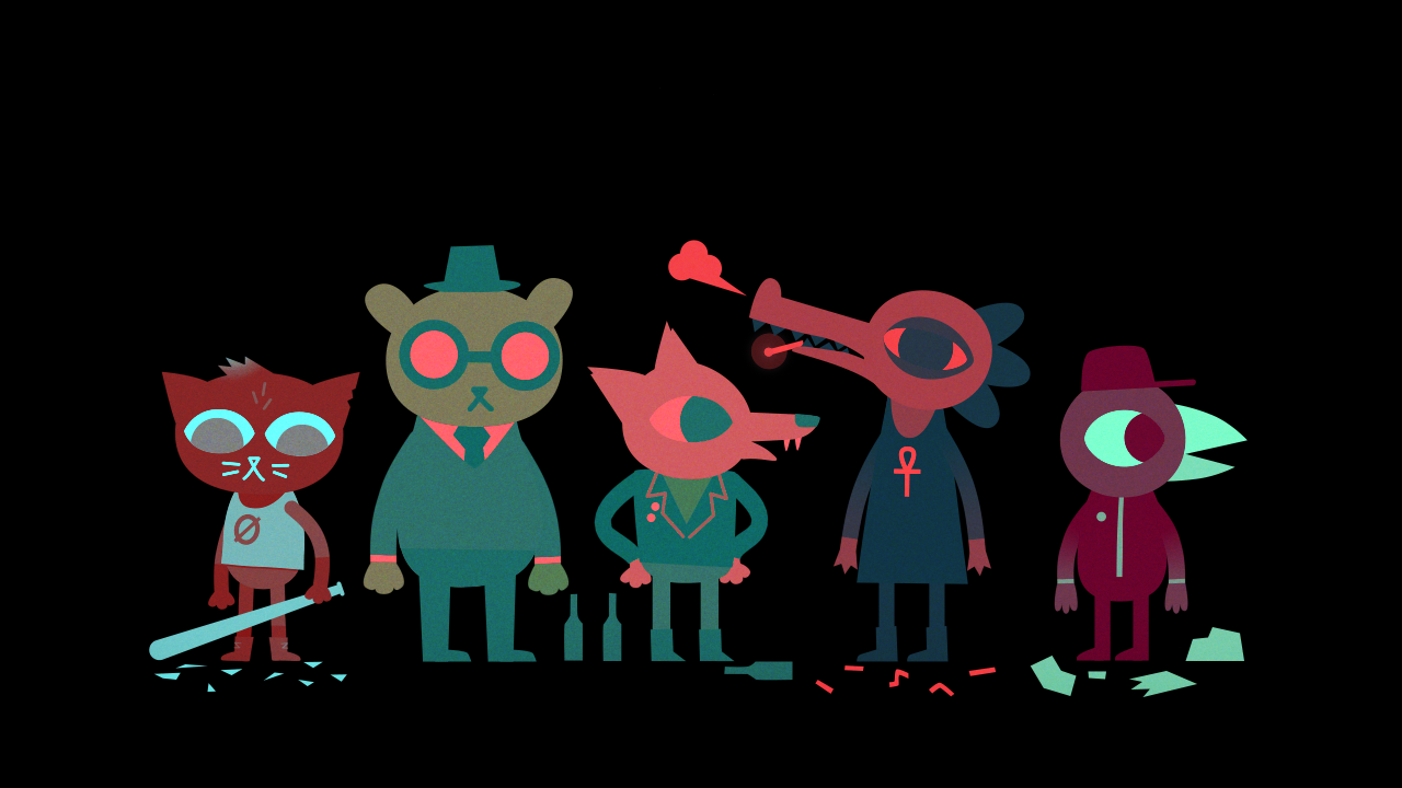 Night In The Woods Wallpaper Posted By Christopher Sellers