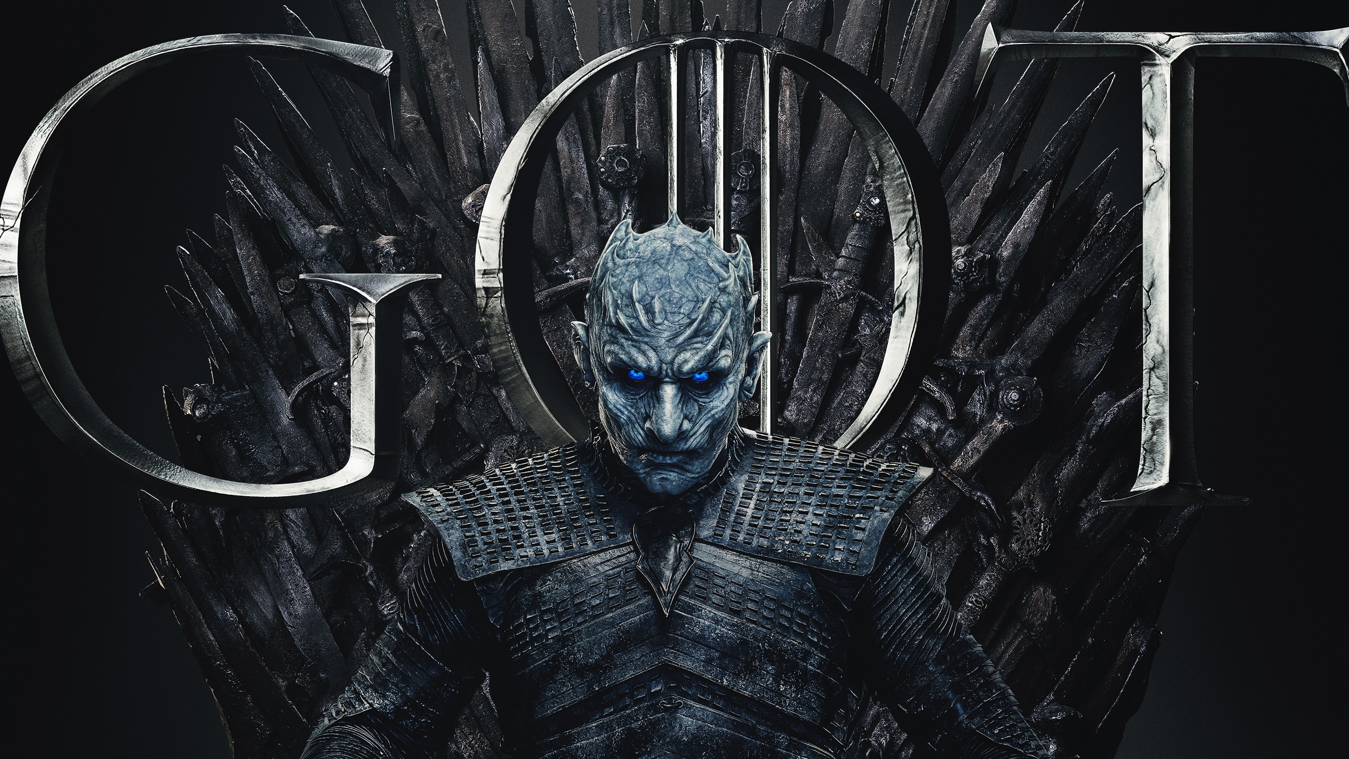 Game of Thrones night king white walker 24 X 14 inch Silk Poster