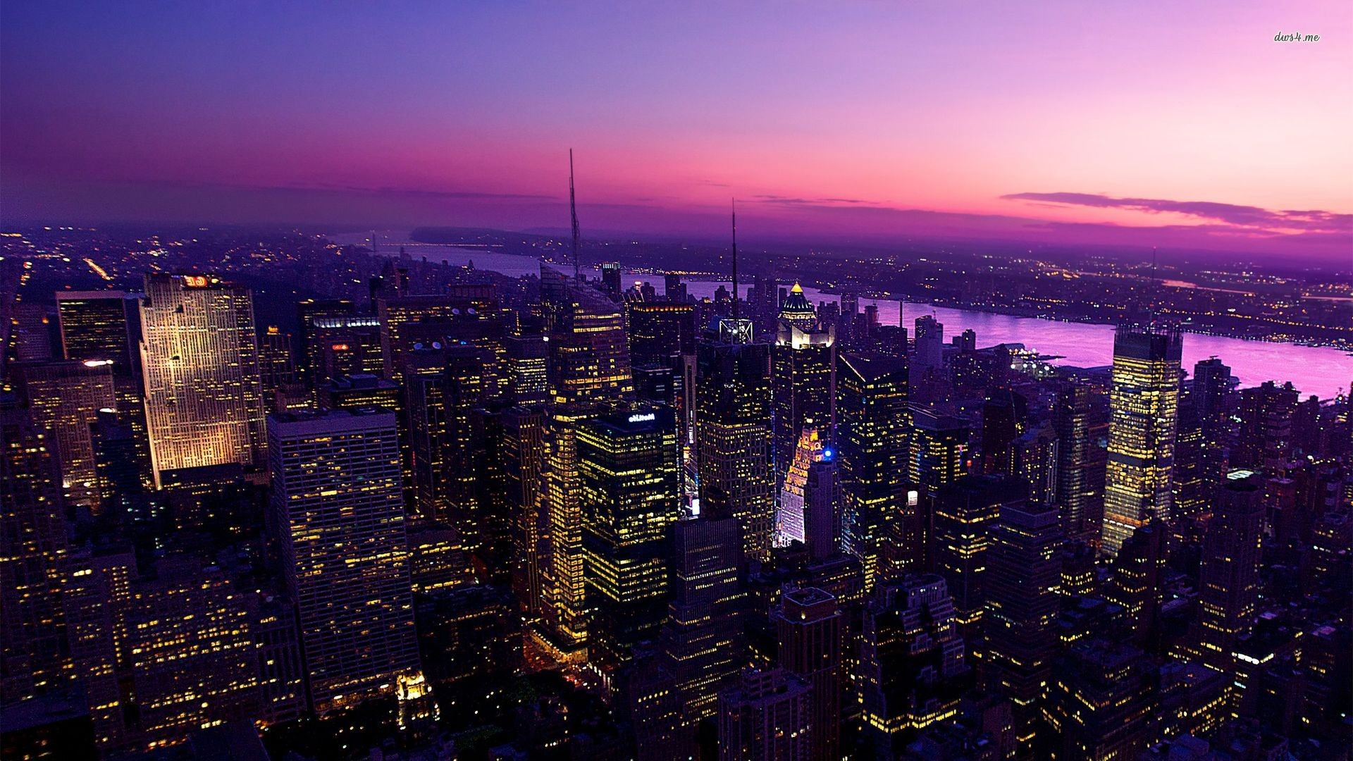 Night Time In New York City Wallpaper Posted By John Walker