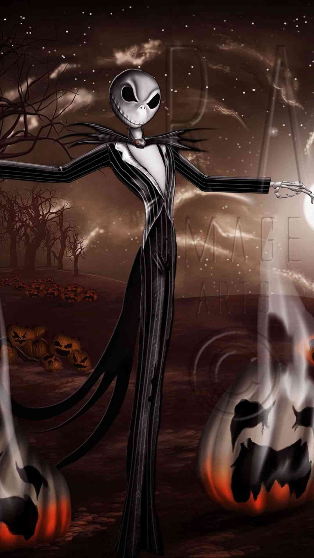 Jack Skellington Wallpaper Hd 81 Images Nightmare Before