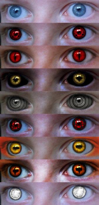 Nine Tail Sage Mode Eyes