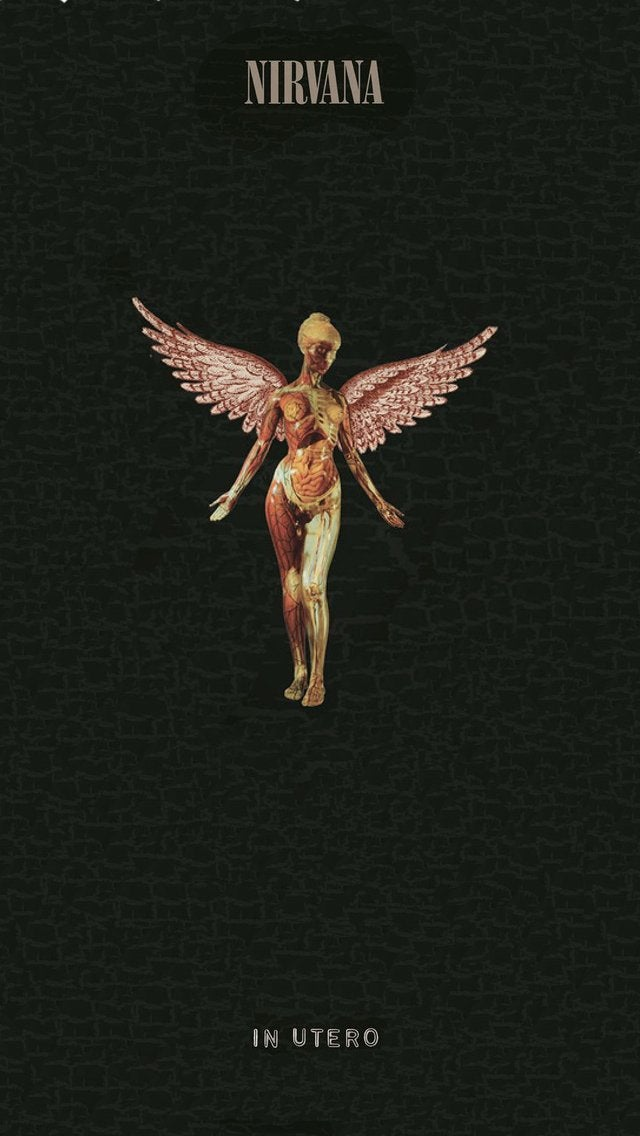 In Utero 2013 re release Vinyl Androidiphone wallpaper as