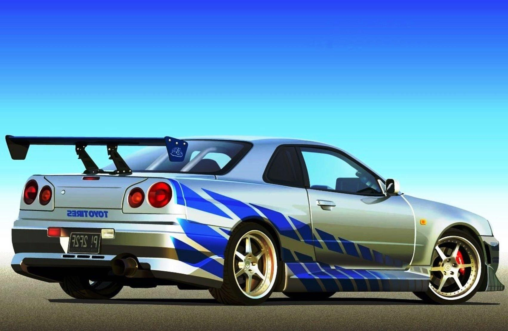 Nissan Skyline Gt R R34 Wallpapers Posted By Michelle Sellers