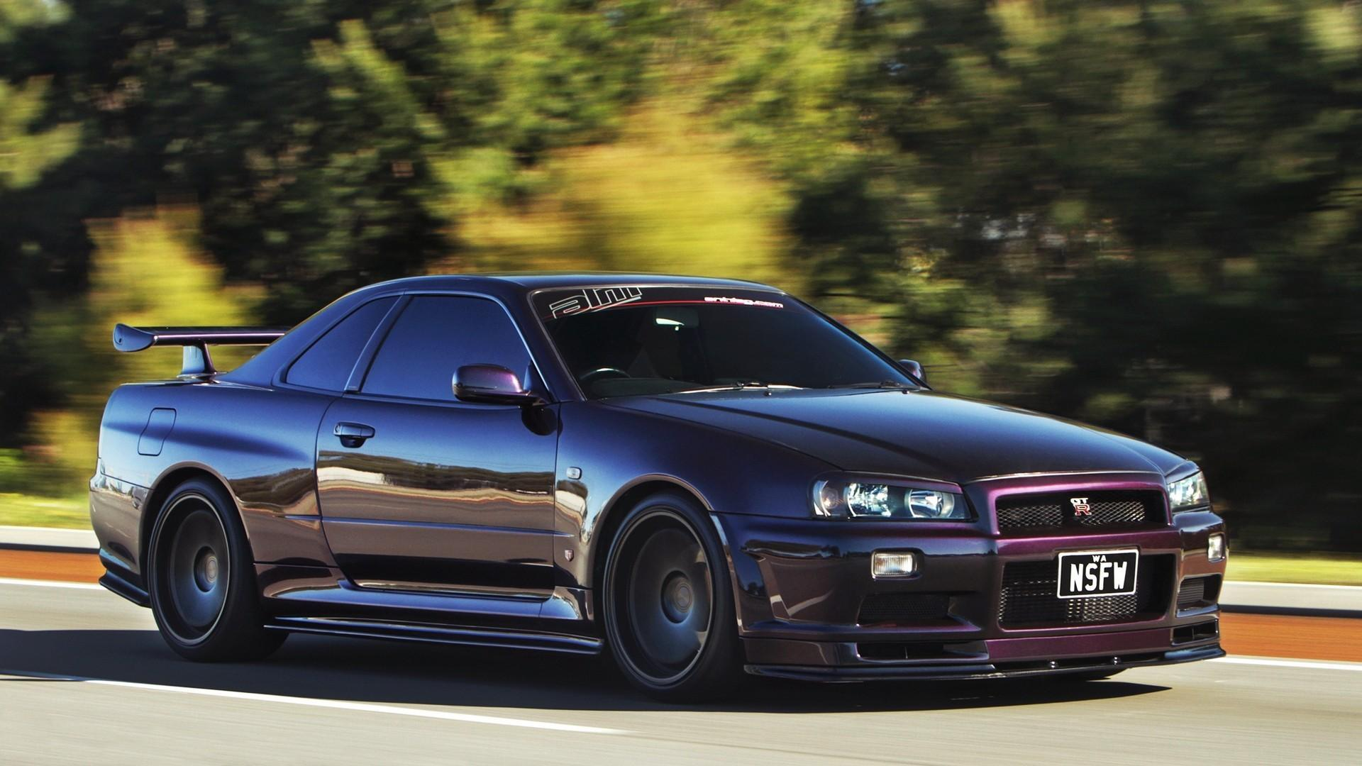 Nissan Skyline R34 Wallpapers Nissan Gtr R34 Wallpaper Hd Hd