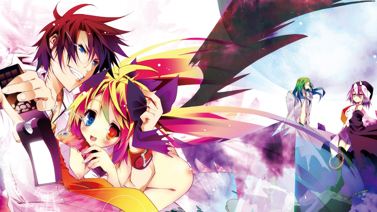 No Game No Life Wallpaper 4k Posted By Christopher Sellers