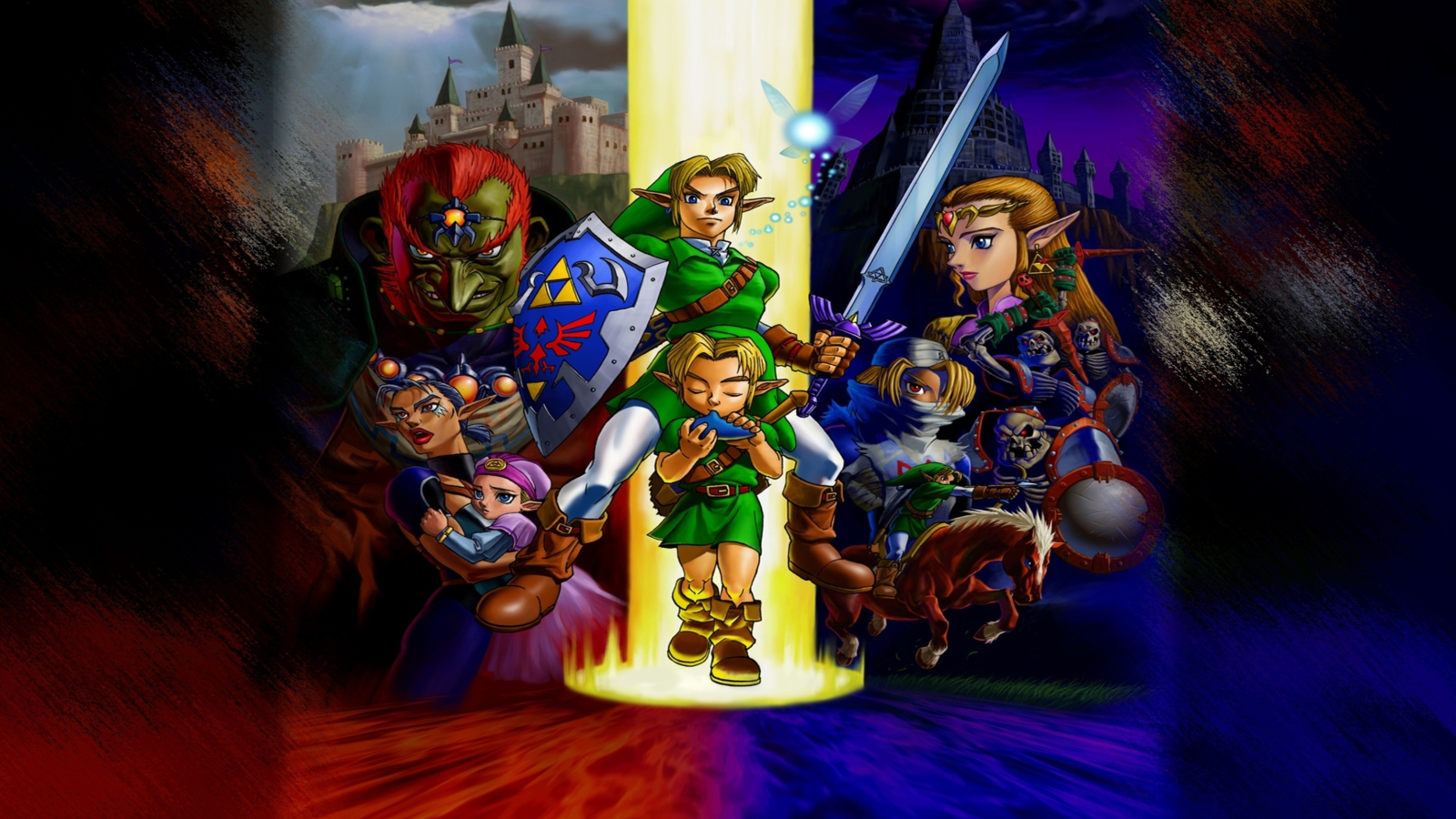 Ocarina Of Time Hd Posted By Zoey Simpson