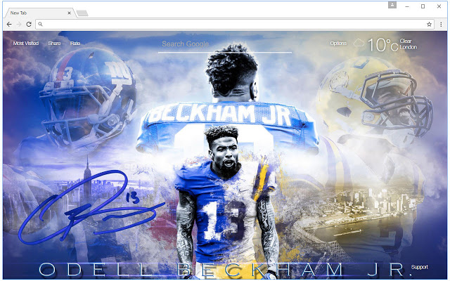 Odell Beckham One Handed Catch Wallpaper Posted By Ethan Anderson