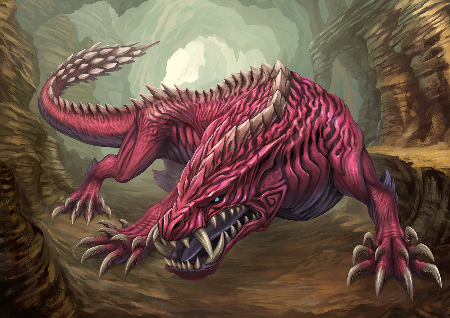 monster hunter world odogaron fanart