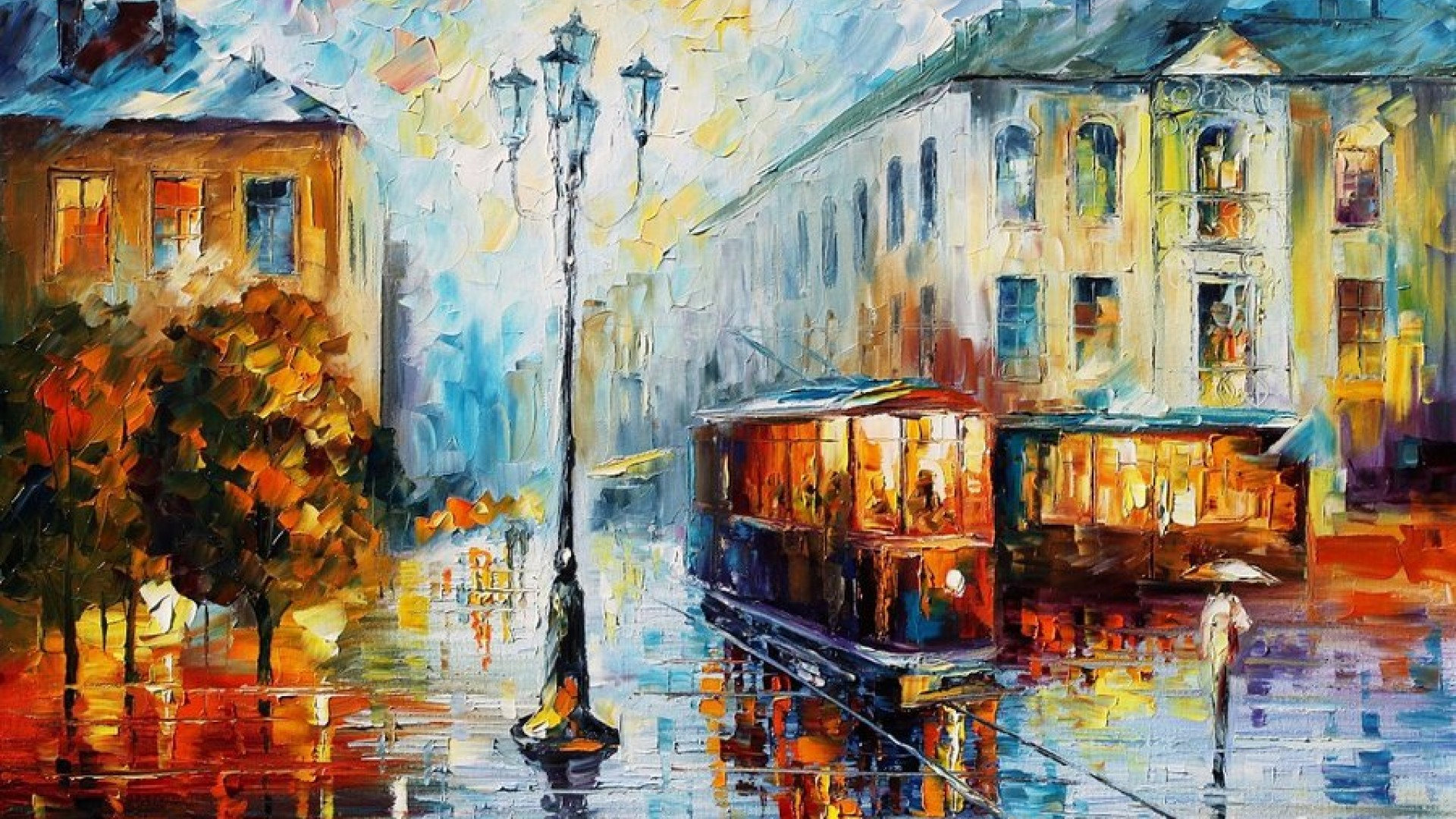 Leonid Afremov Oil Painting Paintings Desktop And Wallpapers