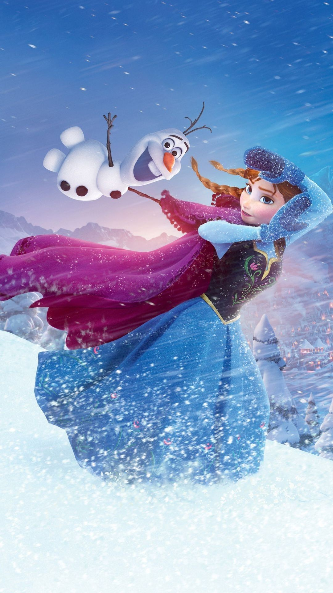 62 Olaf Christmas Wallpapers on WallpaperPlay