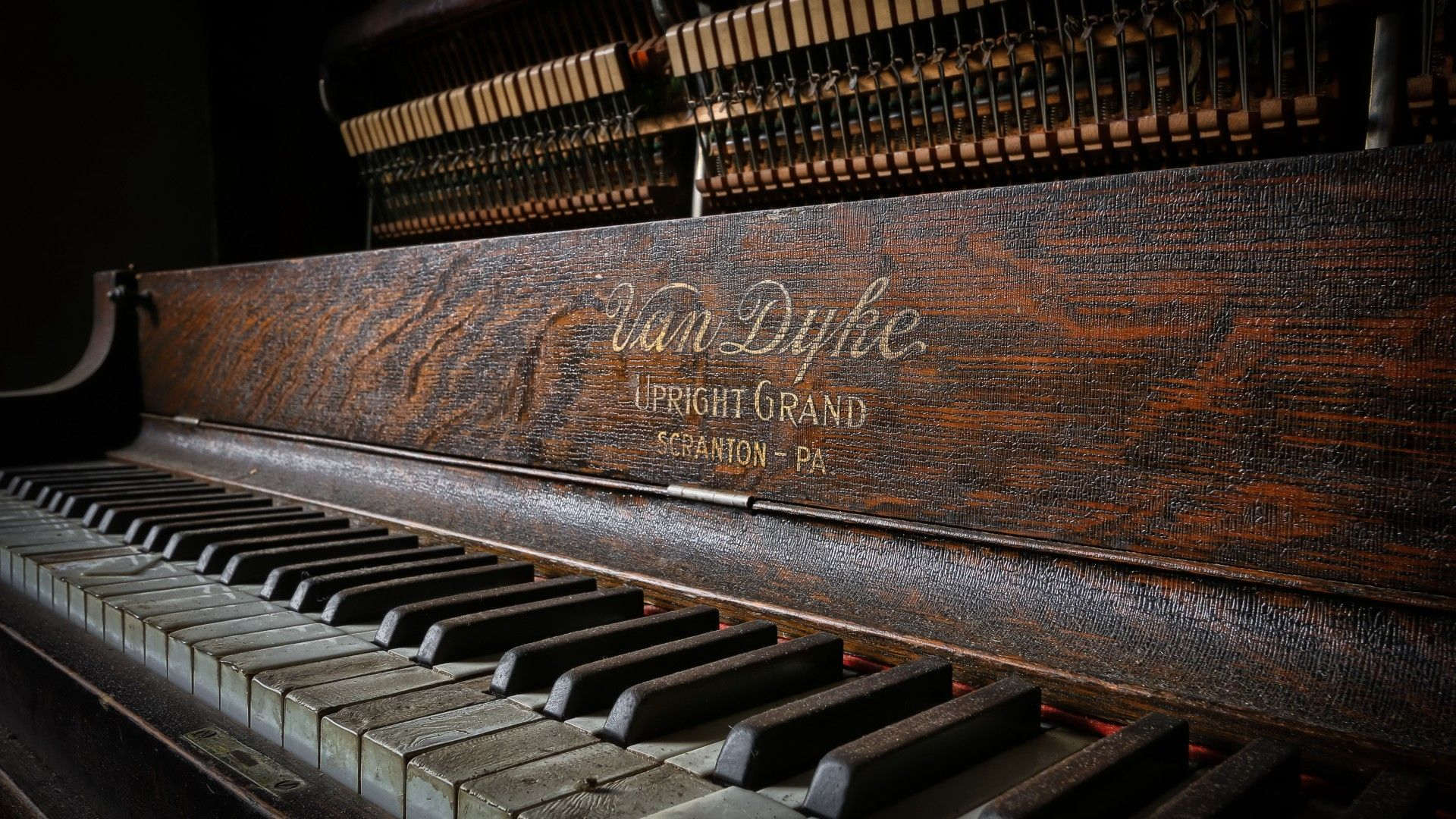 Old Piano Wallpaper Posted By John Walker