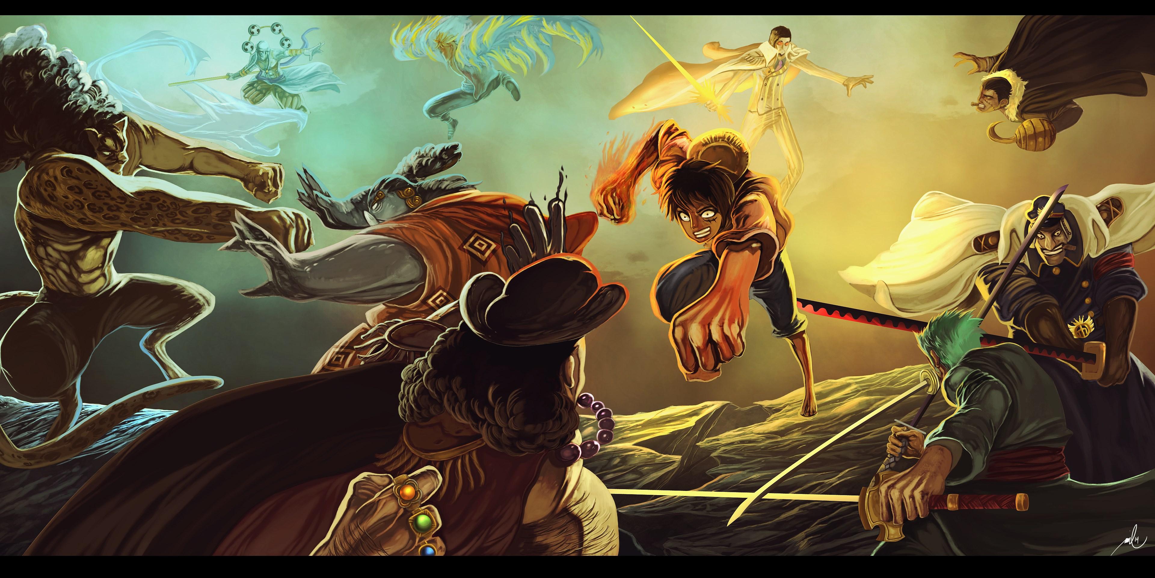 One Piece 4k Ultra Hd Wallpaper - Anime Wallpaper HD