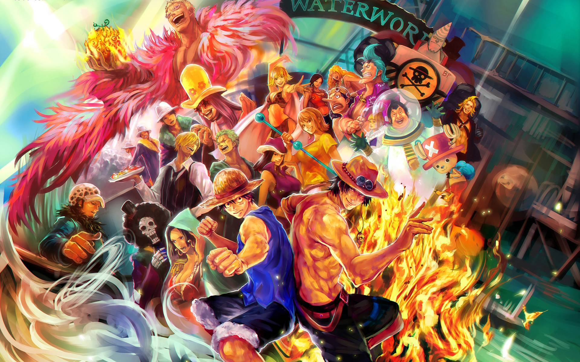 One Piece Cool Wallpaper Posted By Samantha Mercado