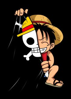 Anime Wallpaper Hd Wallpaper Logo One Piece Android