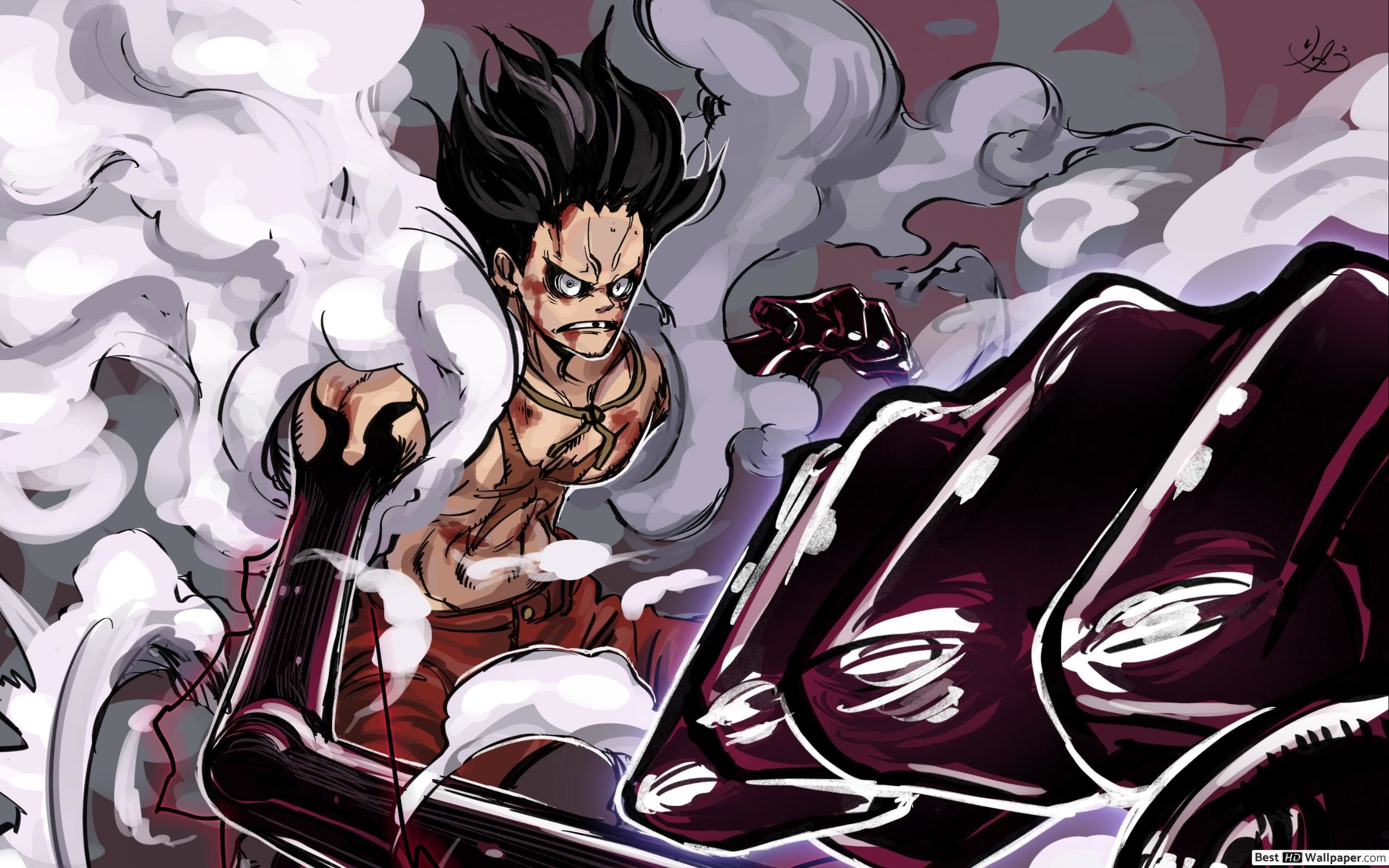 One Piece Luffy Wallpaper Hd Posted By Ryan Sellers