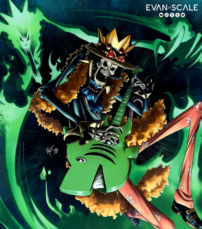One Piece New World Brook Wallpaper Posted By Samantha Sellers
