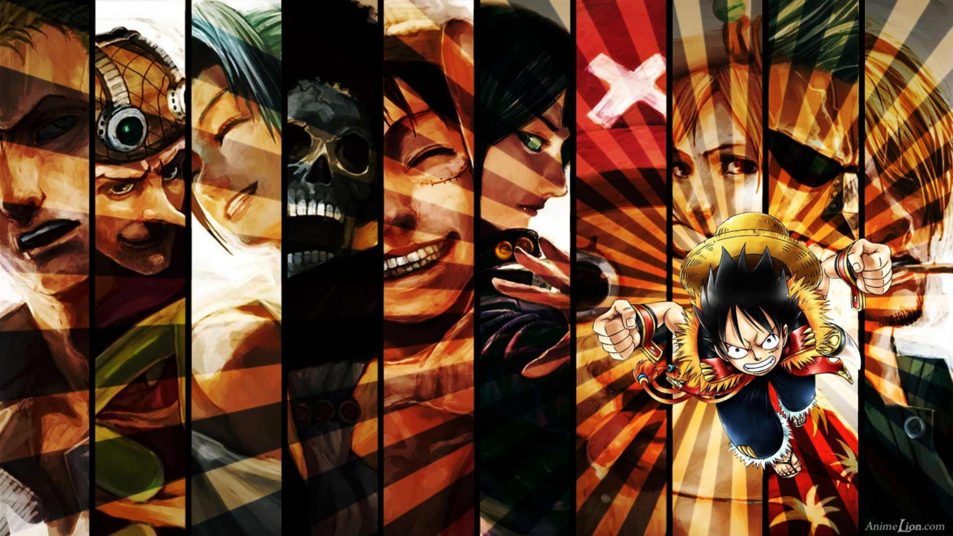 One Piece Strong World Luffy Hd Wallpaper Posted By Ryan Walker