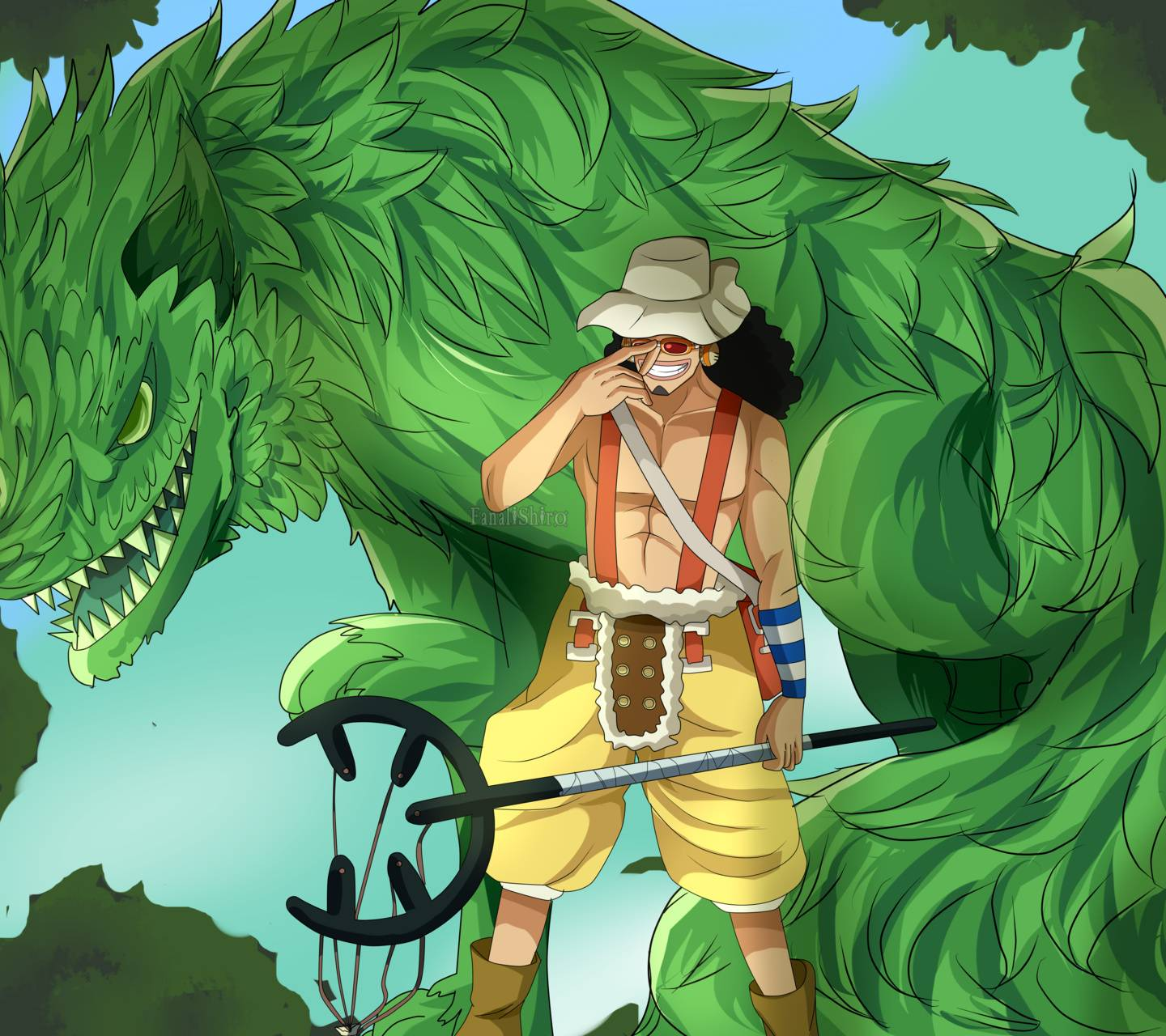 One Piece Usopp Wallpaper Posted By Sarah Johnson