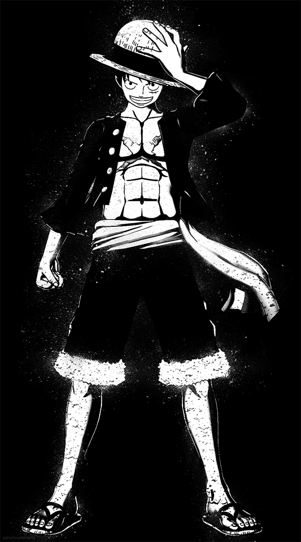 One Piece Wallpaper Luffy Posted By Sarah Anderson