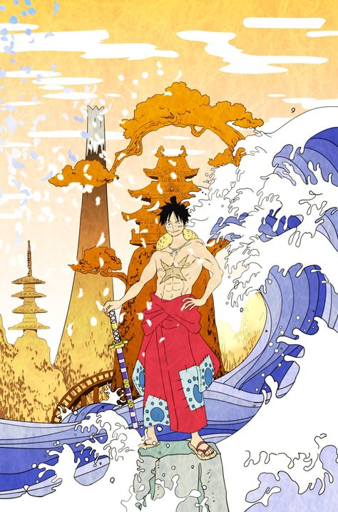 One Piece Wano Wallpaper Posted By Zoey Tremblay