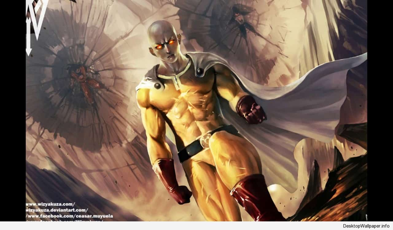 One Punch Man Desktop Wallpaper Posted By Samantha Simpson