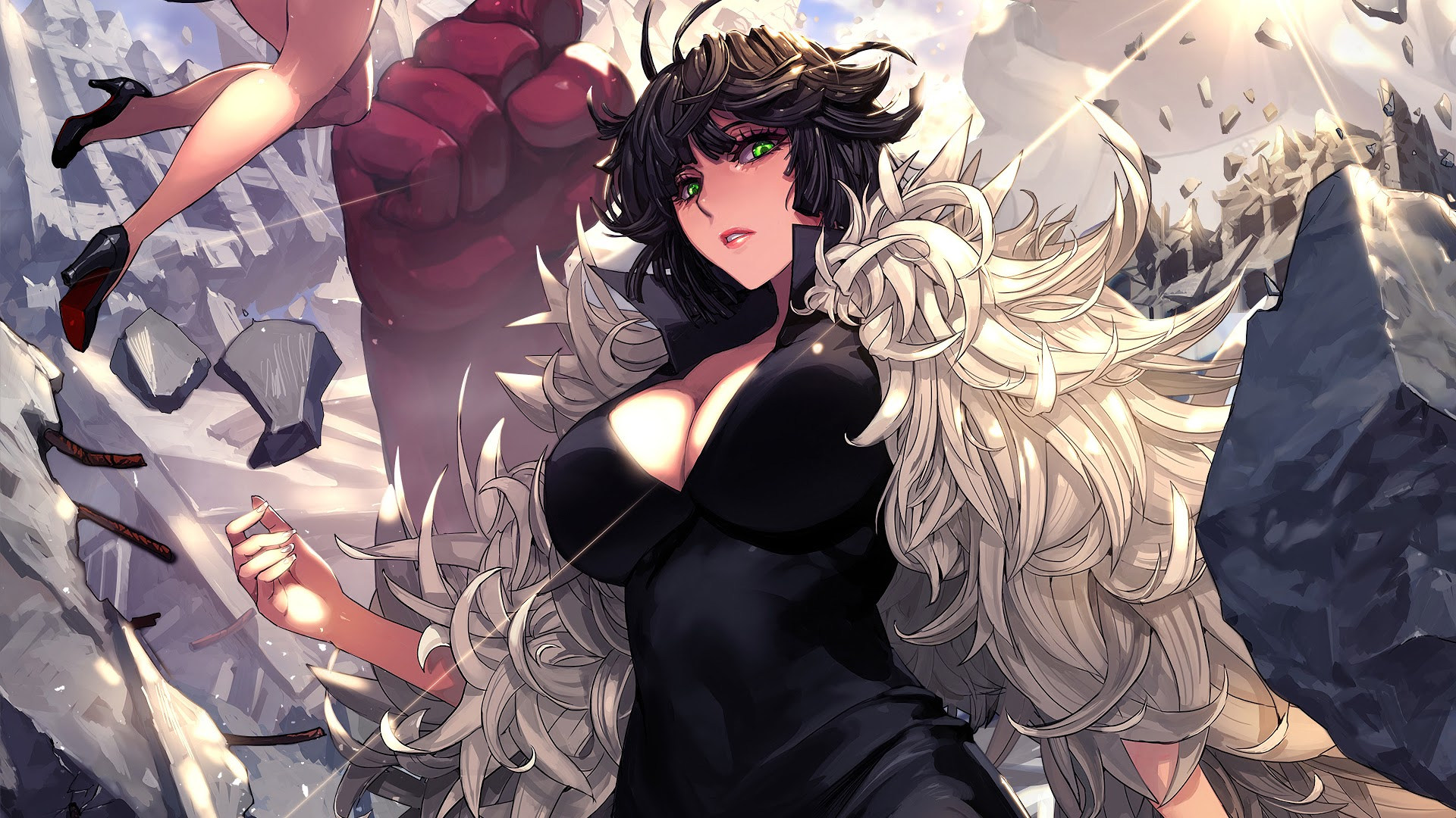 One Punch Man Fubuki Wallpaper Posted By Ethan Simpson