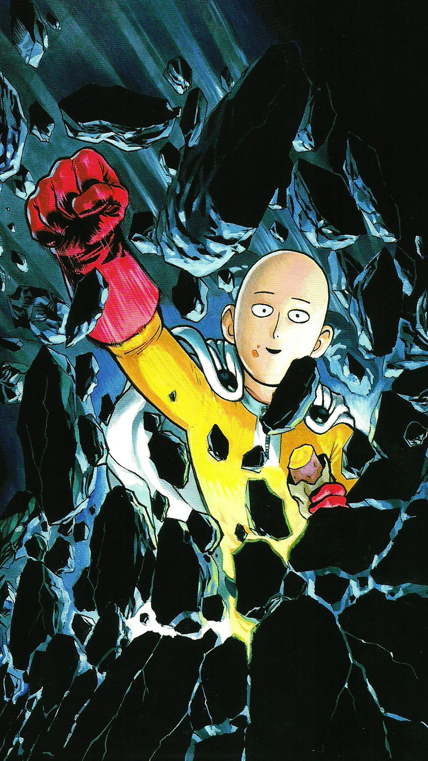 One Punch Man Phone Wallpaper Posted By Sarah Johnson