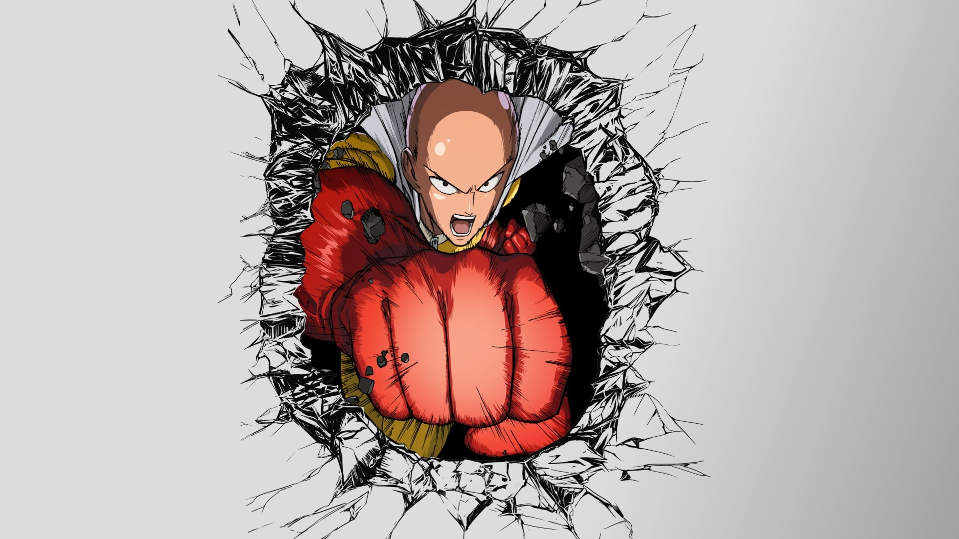 One Punch Man Wallpaper 1080p Posted By Ethan Thompson