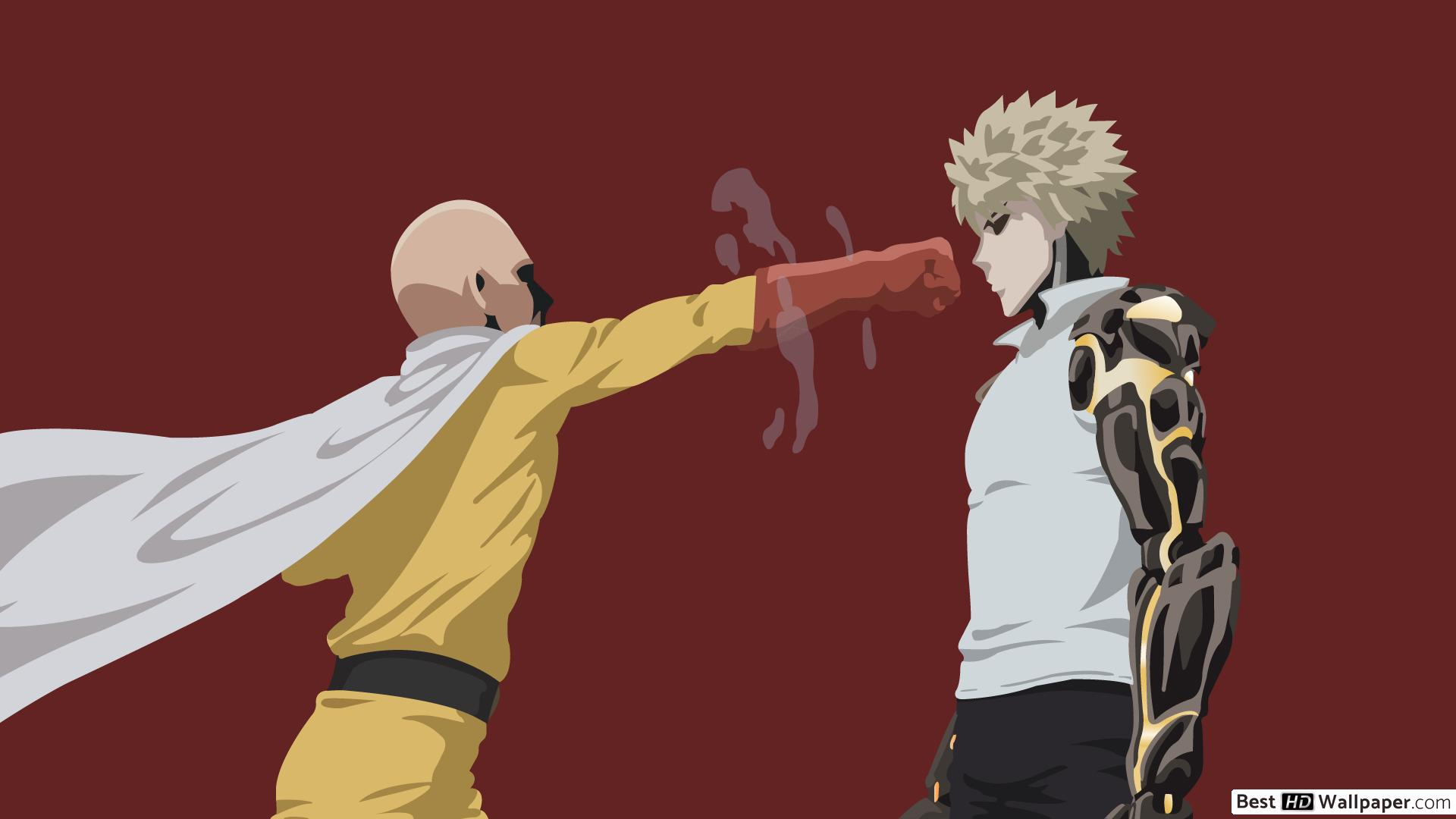 One Punch Man Wallpaper 1920x1080 Posted By Sarah Simpson